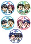 BUTTONS Free! Ships + Food by Vulpixi-Misa
