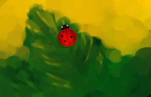 Lady Lady Bug by realmofheaven