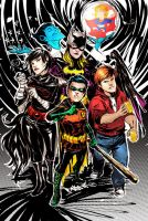 the Gotham City Boys + Girls Club by duss005