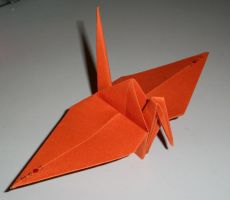 Project 1000 cranes for Japan by Cyrkael