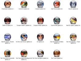 Games 3 XP Icons by jamest