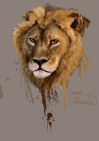 Lion by Coraleat