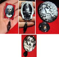New Art Brooches by asunder