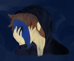 Beyond the mask :  Eyeless Jack by UmbrielUtopia