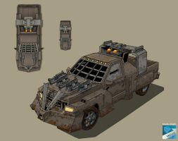 War CAR 2 by claudiobitcube