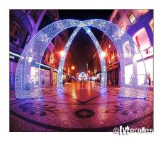 Christmas Time in Lisbon II by Moralles