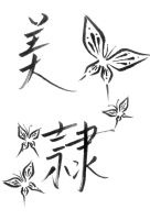 Kanji Tattoo design by Avez-F