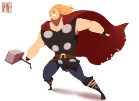 Thor by RaynerAlencar