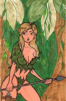 Jungle Girl June 2010 by MicheleWitchipoo