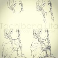 Hana - Drawing process by lita426t