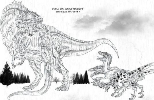 Acrocanthosaurus by Durbed