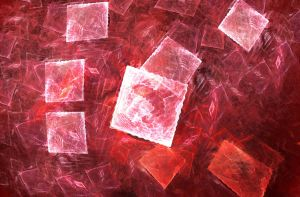 Abstract red motion by carmilion