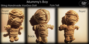 VooDoo Doll - Mummy Boy by A-McQ