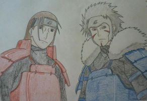 The Senju Brothers by Britney151