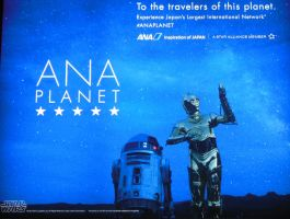 ANA Planet Star Wars Billboard by rlkitterman