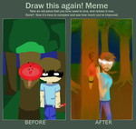 Draw This Again: Herobrine by 9Anti-You6