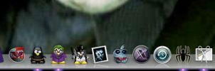 Apple Dark Knight Icons by Real-Eminem