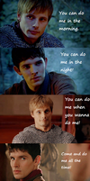 Do me - Merthur by FreakyFangirl97