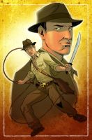 Indiana Jones by KellyYates