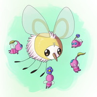 Cutiefly and Pikmin