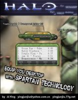 HALO Winamp by JJ-Ying