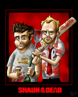 SHAUN OF THE DEAD by who-fan96