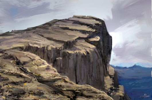 I painted a Cliff!!! by SpeedBear