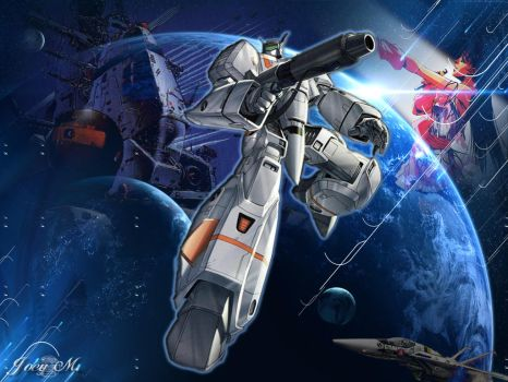 robotech by 8ronin