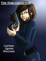 The Star Collector: Captain Quinn Williams by Bella-Anima
