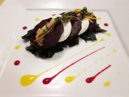 Beets and Chevre - Plate 2 by TheSilverChef