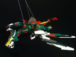 Lego Dragon by GrimmCheater