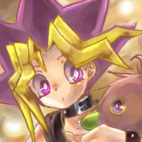 Yuugi and Kuriboh by chi4you