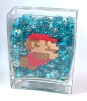 Lil Mario Swimming by Jennifer-EA