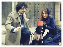 Doctor Who Photoshoot 3 The 11th Doctor by Ligechan