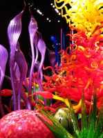 Chihuly Glass Garden by evelynrosalia
