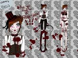 Gears (Creepypasta Oc I Aopdted) by iluvcupcake