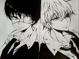kawaii Ken-kun and badass Ken-kun:33 by Exorcist95