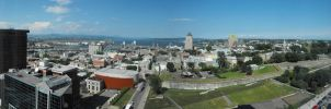 Quebec city panorama by joshonator12