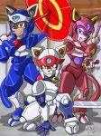 Samurai Pizza Cats by kitfox-crimson