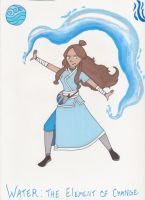 Katara - Waterbending Master by DarbyLucy