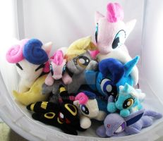 Pile-o-ponies and Pokemon by TheHarley