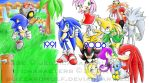 Sonic's 15th Anniversary Pic by BlizzardWolf