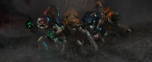 Halo Grunts Facebook Cover Photo by Nick004