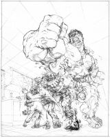 Hulk Transformation, part 1 by bgreen907