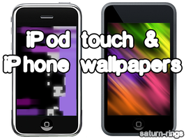 iPod Touch-iPhone Wallpapers by saturn-rings