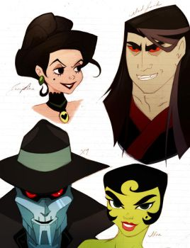 pretty villains by Metallikato