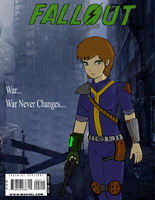 Fallout Comic Cover by glue123