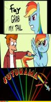 FRY,GRAB MY TAIL!!! Comic by TheRealFry1