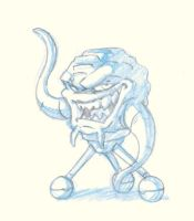 Daily Sketch - Krang by KrisSmithDW