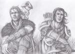 DA:A Anders And Nathaniel by SweetCandyRain